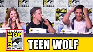 TEEN WOLF Comic Con 2016 - Season 6 News, Tyler Posey, Holland Roden