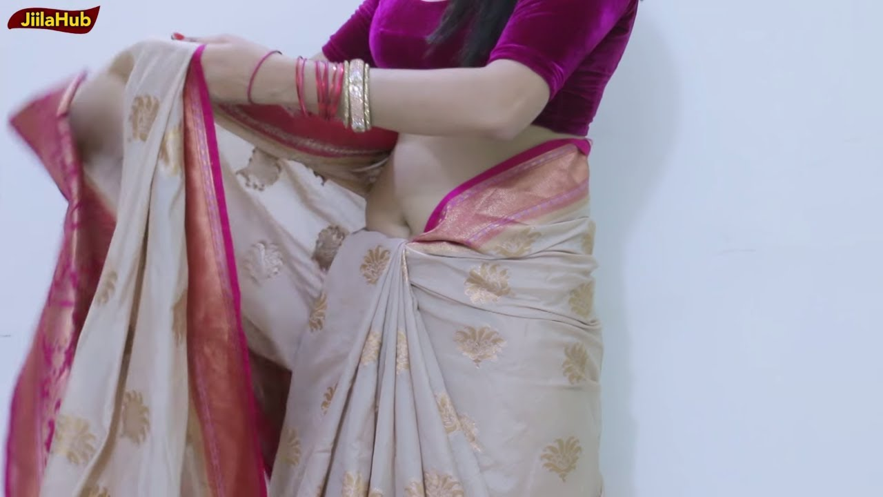 How to cotton wear saree perfectly advise to wear in autumn in 2019