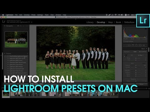 How to Install Presets For Lightroom for Mac