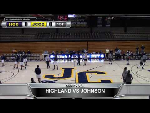 Highland Women's Basketball at Johnson County CC