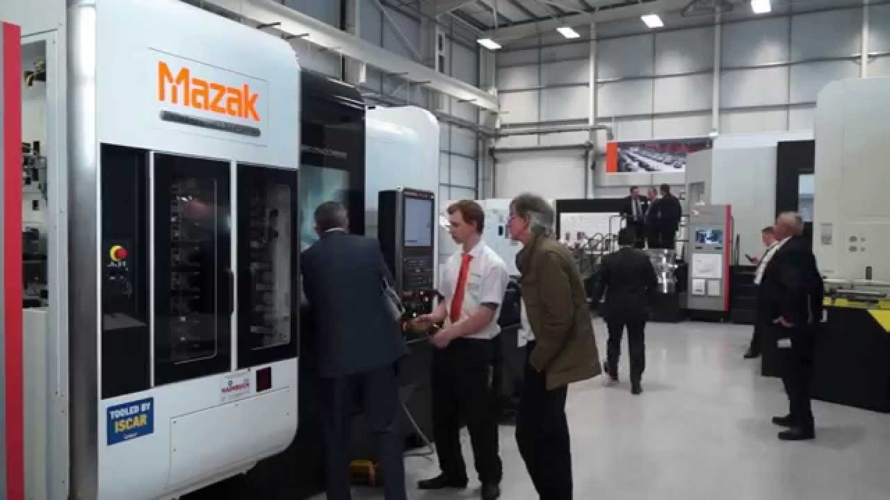 mazak worcester visit report Royal visit: britain's prince charles is briefed by an official during a visit to the  yamazaki mazak factory in worcester, central england,.