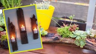 Cool Driftwood Crafts for Home Décor