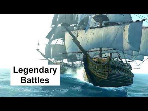 Assassin's Creed 4 Legendary Ship Battles El Impoluto La Dama Negra HMS Prince Royal Sovereign