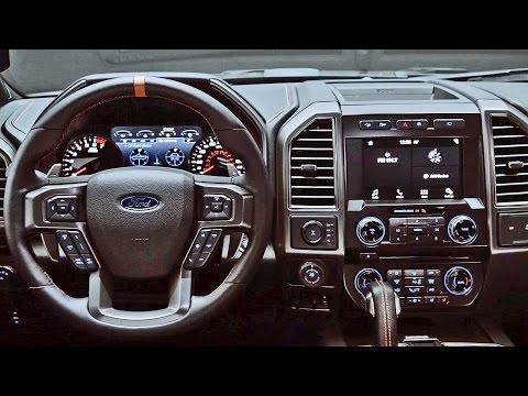 INTERIOR: 2017 Ford F-150 Raptor