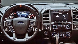 Interior: 2017 Ford F-150 Raptor