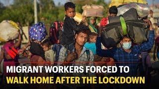 Migrant workers desert Delhi after the lockdown