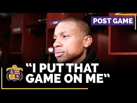 Isaiah Thomas Talks About Taking The Final Shot In Loss To Miami Heat