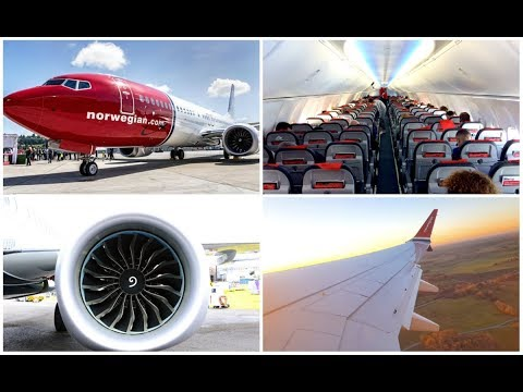 Norwegian Boeing 737 MAX 8 (6+ HOUR FLIGHT) | Stockholm - Dubai