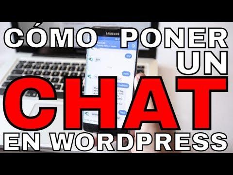 ✔Cómo Poner Un Chat En Wordpress 2018 - Instalar O Poner Chat En Wordpress Gratis Para Tu Página Web