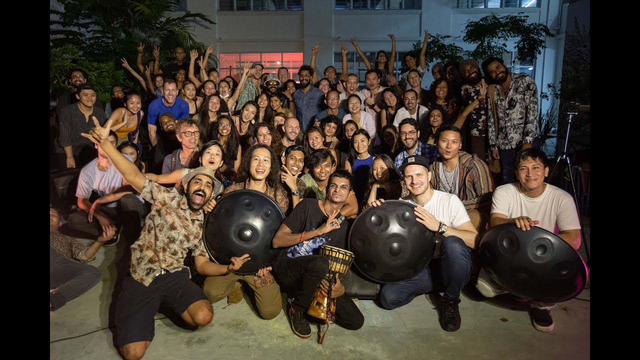 3 Awesome Handpan Musicians in Singapore Collaborate for Handpan Magic Album Launch