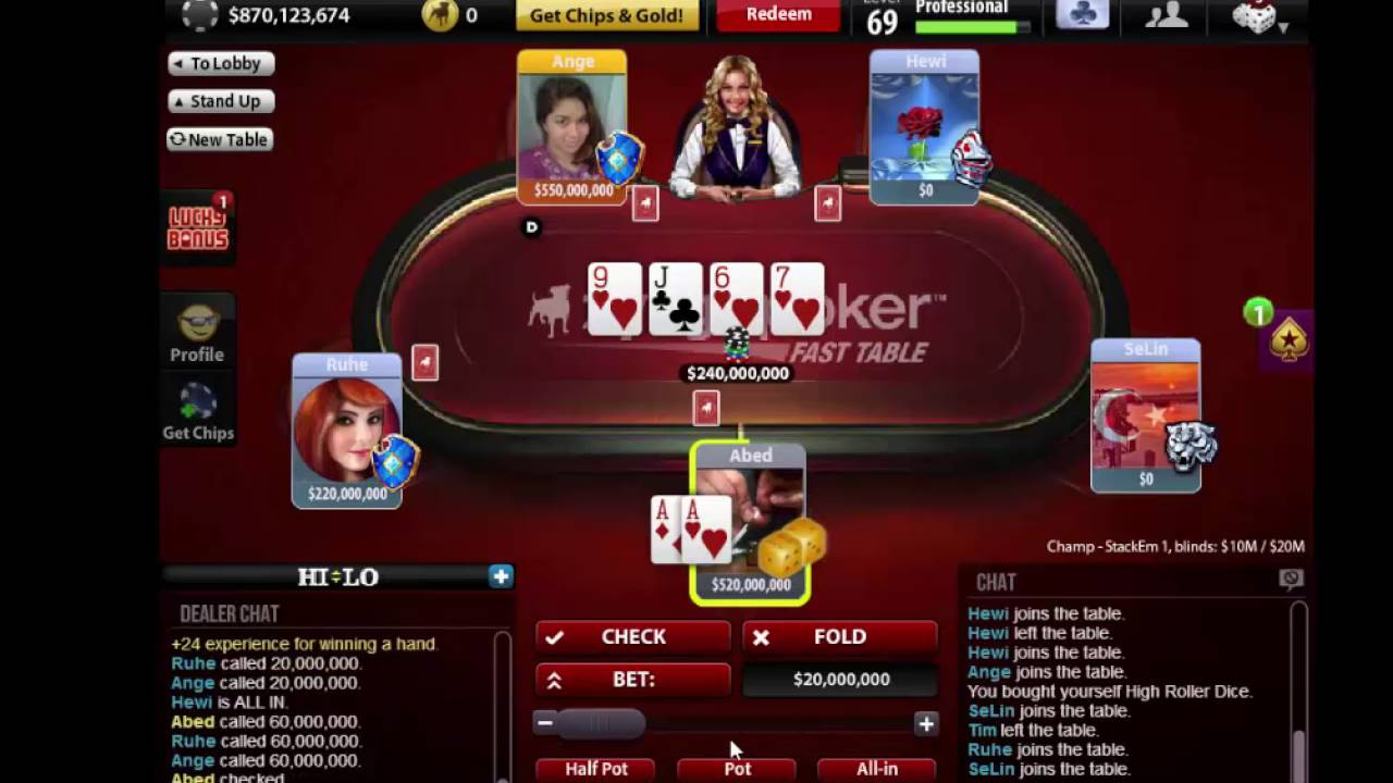 zynga poker game