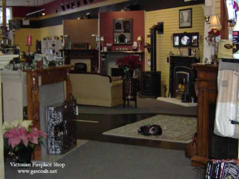 Tour VICTORIAN FIREPLACE SHOP video