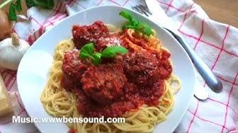 Italialaiset lihapullat(gluteiiniton)