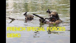 French Special Forces demo // Démo des Forces Spéciales 1er RPIMa et 4e RHFS  - 14 juillet 2018