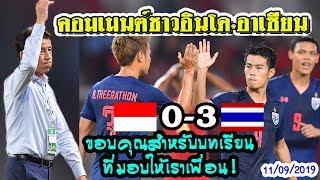 ส่องคอมเมนต์ชาวอินโดนิเซีย-หลังแพ้-ไทย 3-0 อินโดนิเซีย-ในฟุตบอลโลกรอบคัดเลือก 2022 รอบที่2