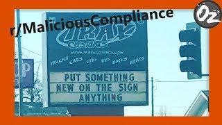 r/MaliciousCompliance | Story Time | episode 1