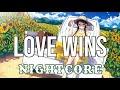 (NIGHTCORE) Love Wins - Carrie Underwood