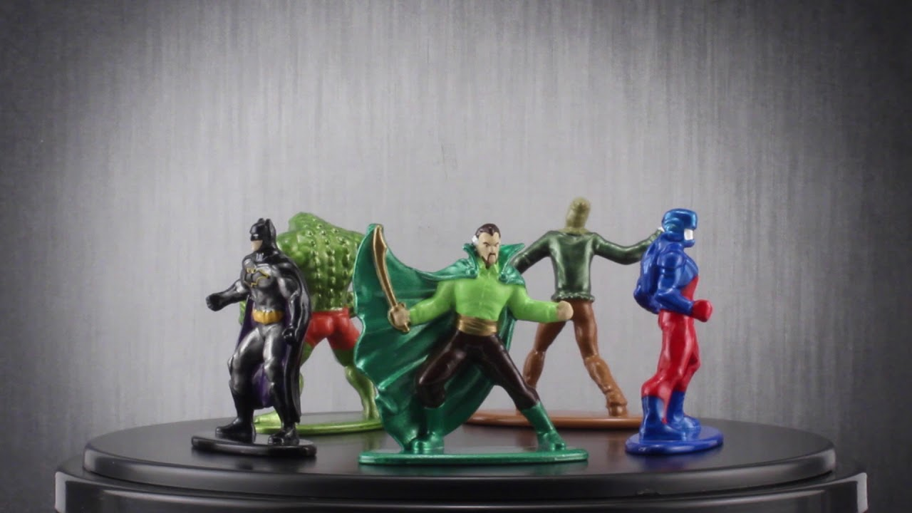 Jada Metalfigs Metal Figure Bundle of 5 Diecast DC Comics The Joker