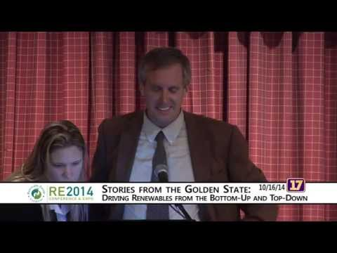 Renewable Energy Vermont Conference Keynote 10/16/2014