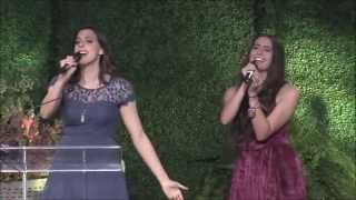 "Cimorelli performs ""Fight Song"" by Rachel Platten (live at the Global Genes 2015) (HD)"