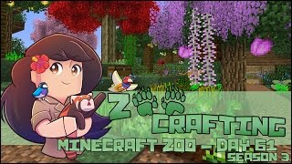 Seed Fight in the Spring Garden! 🐘 Zoo Crafting: Episode #61 🐘 Season 3