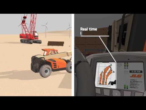 JLG High Capacity Telehandlers: How SmartLoad Technology Works