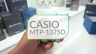 Tìm hiểu chiếc CASIO-MTP-1375D - viền răng cưa độc đáo