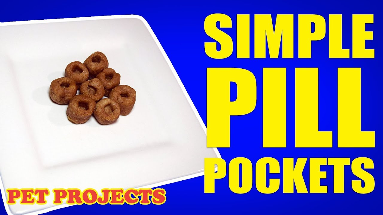 Pill pockets in 5 minutes! - EASY DIY