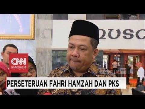 Blak-blakkan Fahri Hamzah soal Perseteruannya dengan PKS