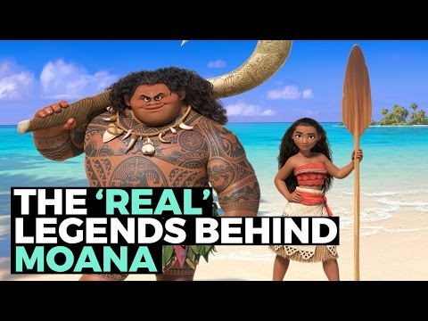 The 'Real' Legends Behind Disney's 'Moana'
