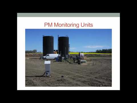 Monitoring of Air Emissions from Heated Heavy Oil Storage Tanks, David Picard for PTAC