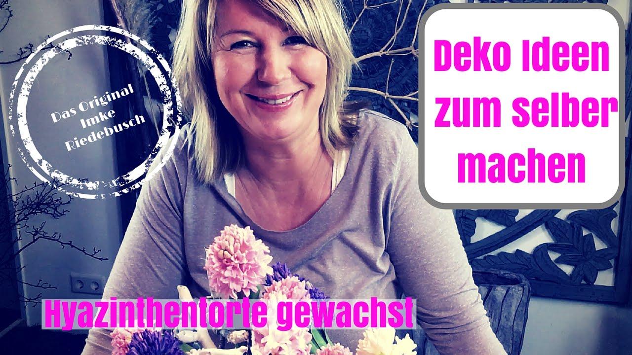 DIY-Deko Ideen zum selber machen-kreative Hyazinthen - Hyazinthentorte ...