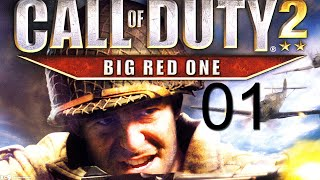 Call of Duty 2: Big Red One Walkthrough Gameplay Part 1