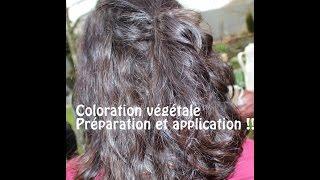 coloration vgtale prparation et application - Coloration Vgtale Khadi
