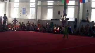 Спортивная акробатика. Турнир памяти Коркина в Бресте 2014. Мужская пара.
