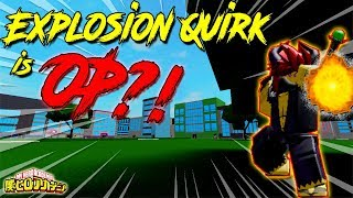 [NEW CODE!] SOLO RAID WITH EXPLOSION QUIRK IS IT OP!? | BOKU NO ROBLOX REMASTERED!? | ROBLOX |
