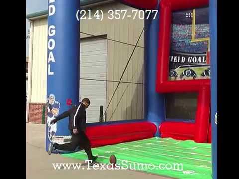 Football: Kick a Field Goal Challenge - Party Rental in Dallas, TX