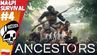 Nauczyłem Małpy Walczyć w Ancestors The Humankind Odyssey PL #4 | Rizzer survival