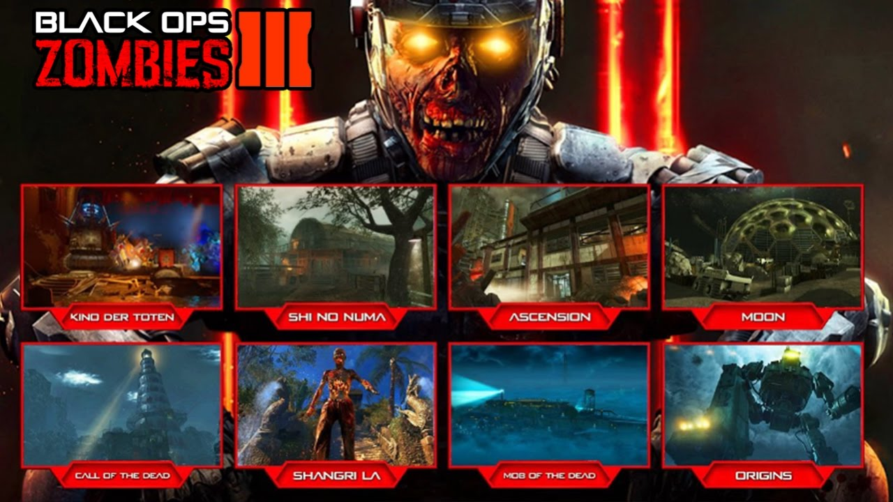 DLC ZOMBIES CHRONICLES CONFIRMED REMASTERED ZOMBIES MAPS - All of us remastered bo3 zombies maps