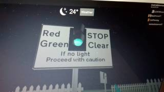 Into to Foxton Station Ped Level Crossing, ROBLOX (14.03.17)
