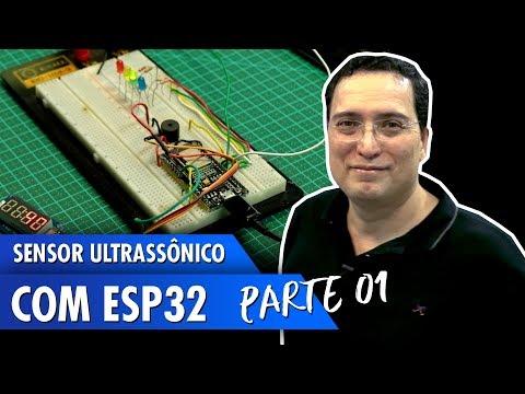 Sensor ultrassônico com ESP32