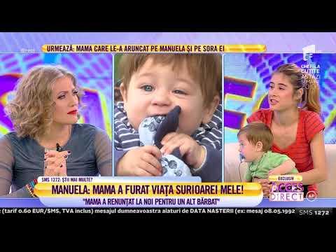 """Manuela, amintiri terifiante din copilărie: """"Tata m-a bătut până mi-a spart capul în trei locuri"""""""