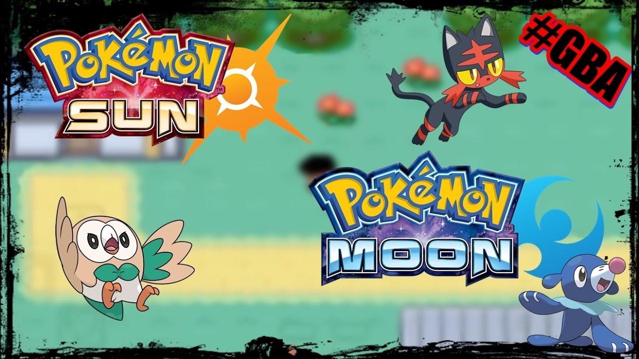 pokemon sun and moon gba zip free download