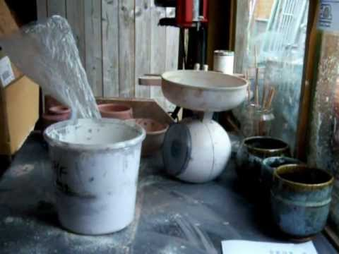 wadding for firing pottery in a wood fired kiln