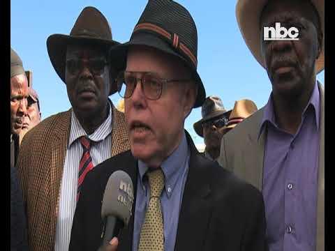 Genocide lawyer concludes Namibian tour - NBC