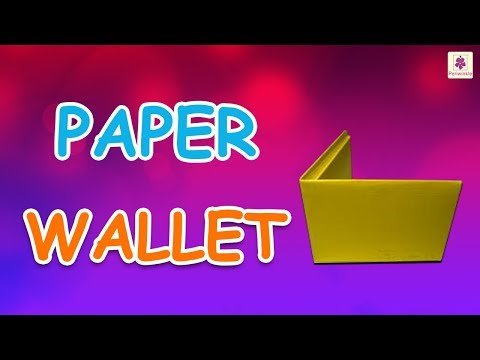 Origami Wallet | DIY Paper Wallet For Kids | Periwinkle