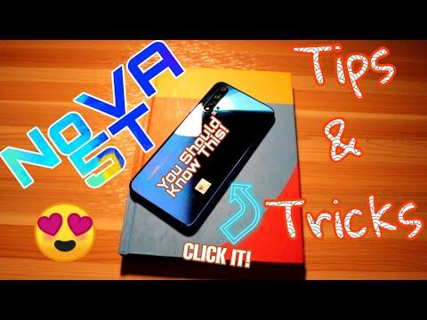 Tips And Tricks Huawei Nova 5T