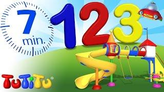 TuTiTu Pré-escola | Contando os numeros de 1 a 10 em Inglês | 123 Recreio