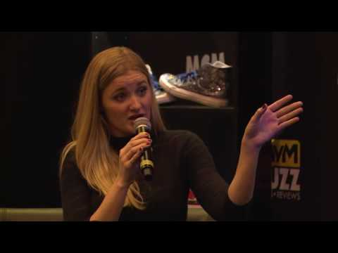 AJ Michalka Interview @ MCM  Birmingham – Steven Universe, Super 8 & more