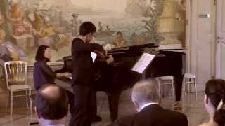 "Aus der Sonate für Klavier und Violine in F-Dur, op. 24 ""Frühlingssonate"" (Ludwig van Beethoven )"